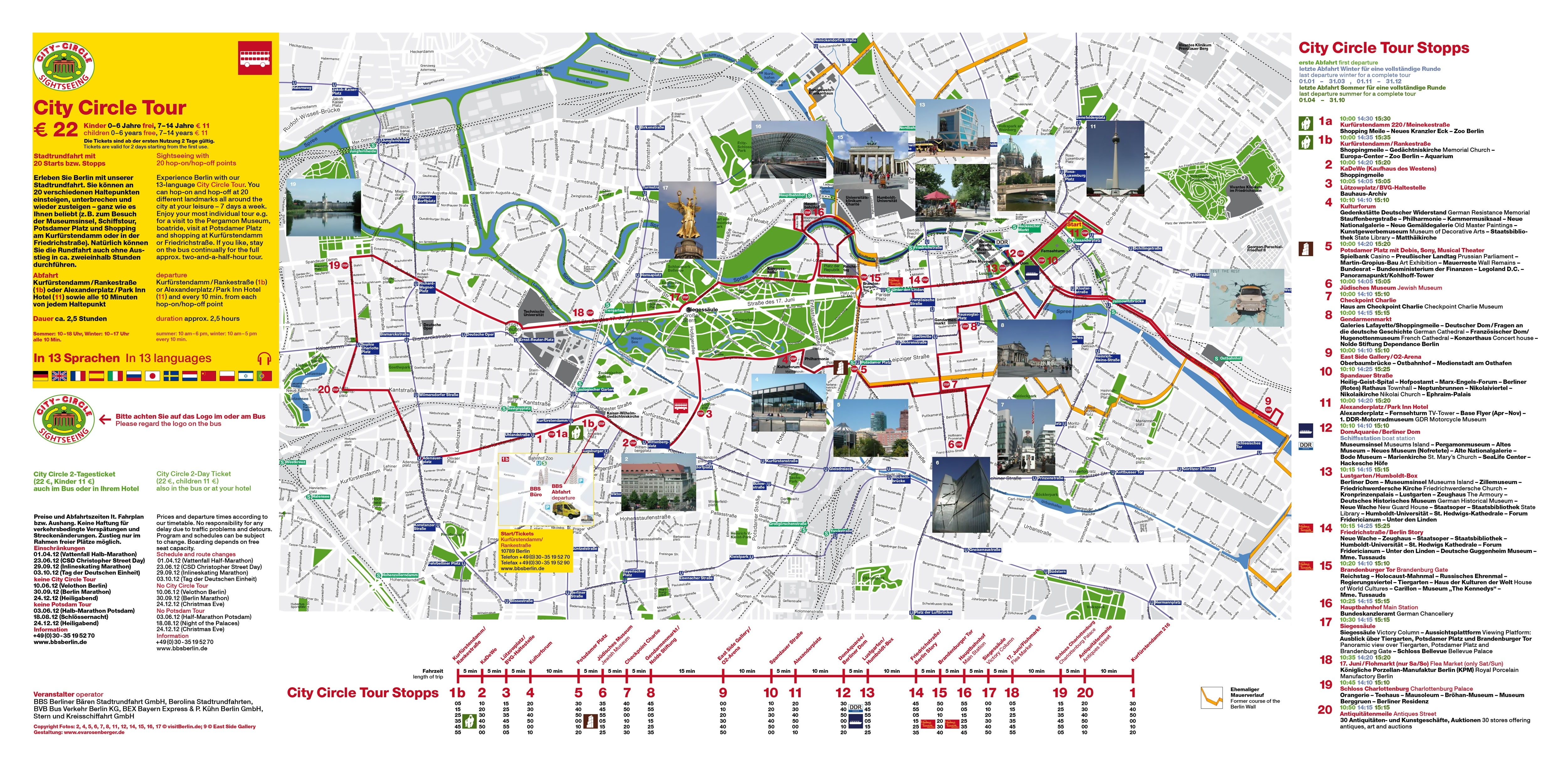 Large Detailed Berlin Top Tourist Attractions Map | Berlin | Germany inside Berlin Germany Attractions Map