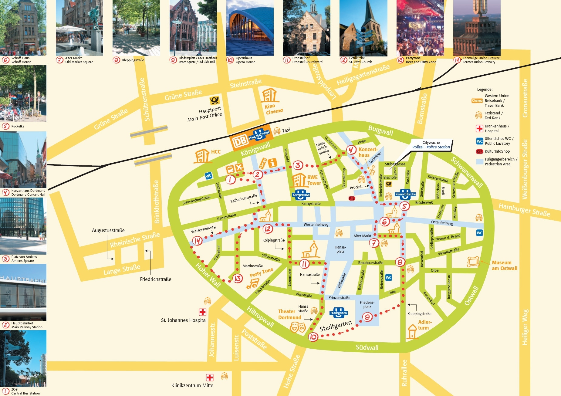 Large Dortmund Maps For Free Download And Print   High-Resolution with regard to Map Of Germany Showing Dortmund