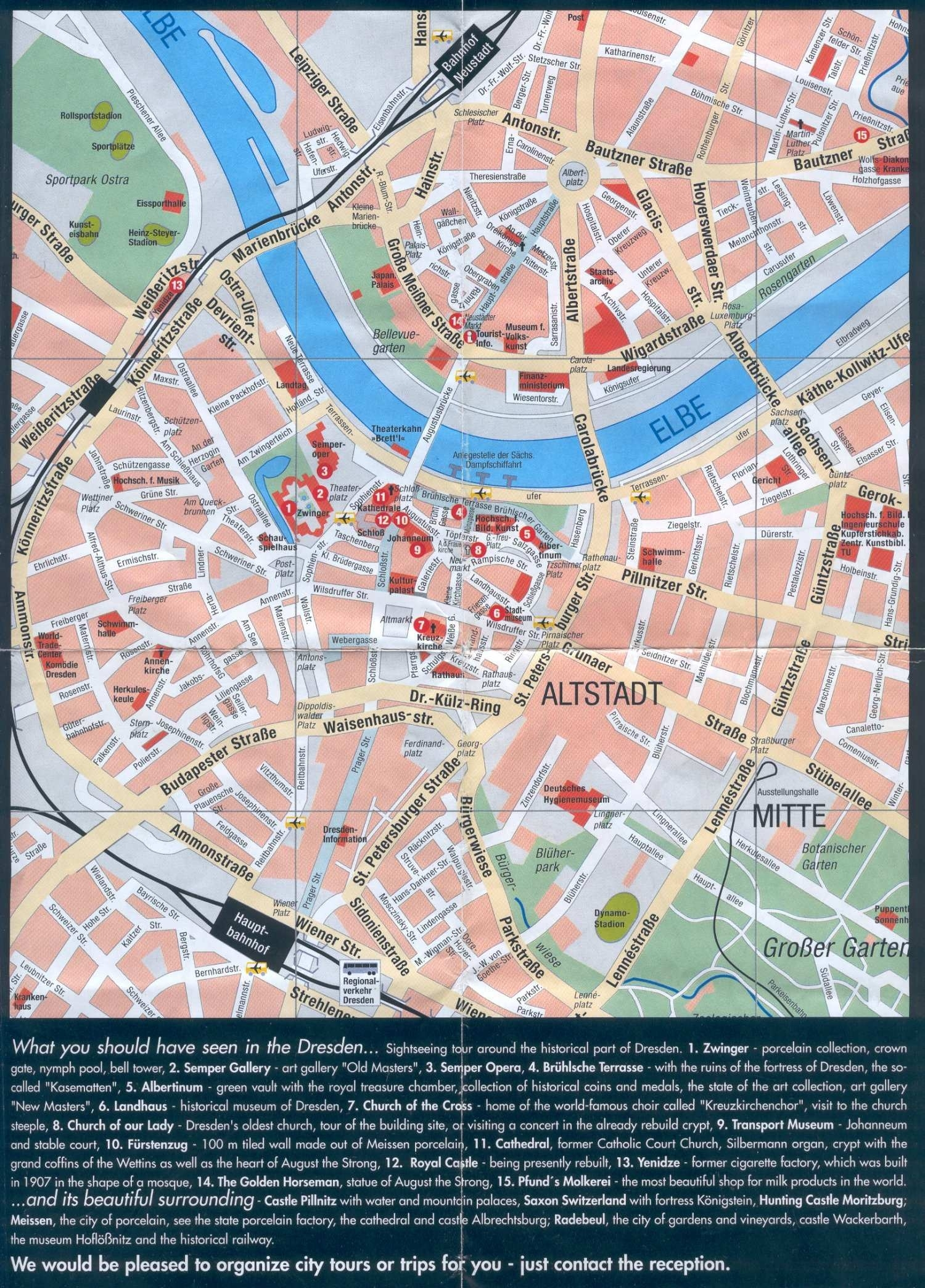 Large Dresden Maps For Free Download And Print | High-Resolution And with regard to Dresden Germany City Map