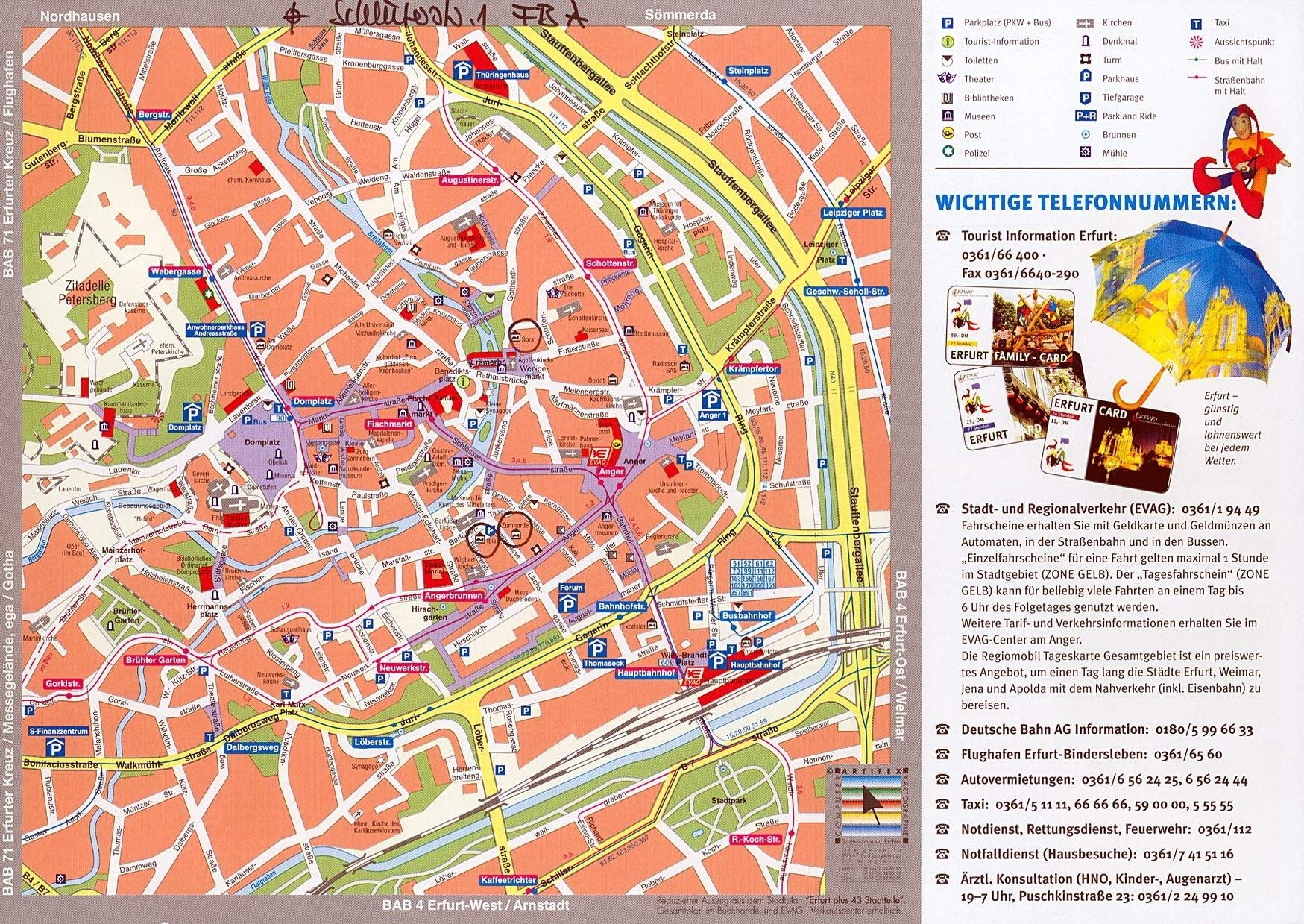 Large Erfurt Maps For Free Download And Print   High-Resolution And for Erfurt Germany Map