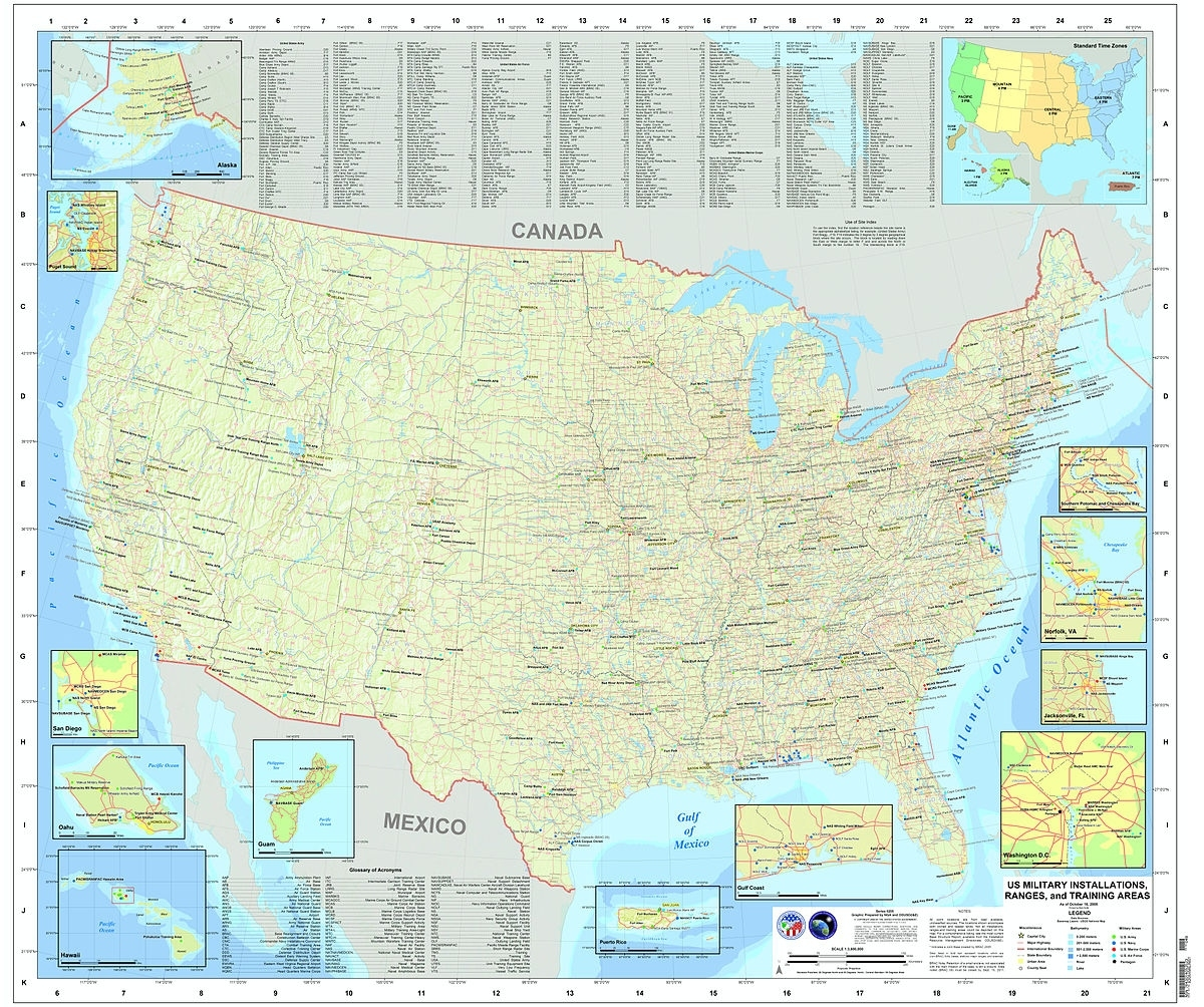 List Of United States Military Bases - Wikipedia intended for British Army Bases In Germany Map