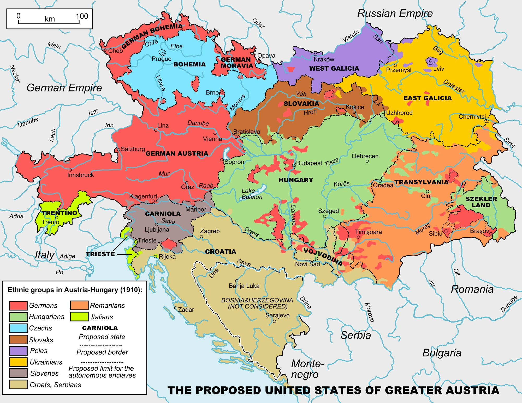 Map Of Austria Hungary And Germany   Download Them And Print pertaining to Map Of Germany Austria And Hungary