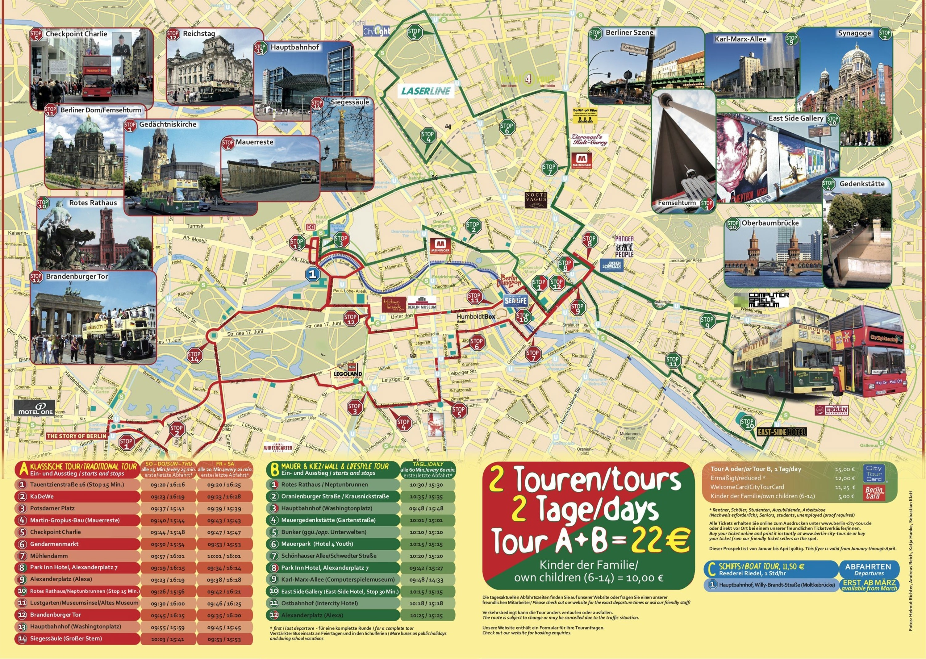 Map Of Berlin Tourist Attractions, Sightseeing & Tourist Tour within Berlin Germany Attractions Map