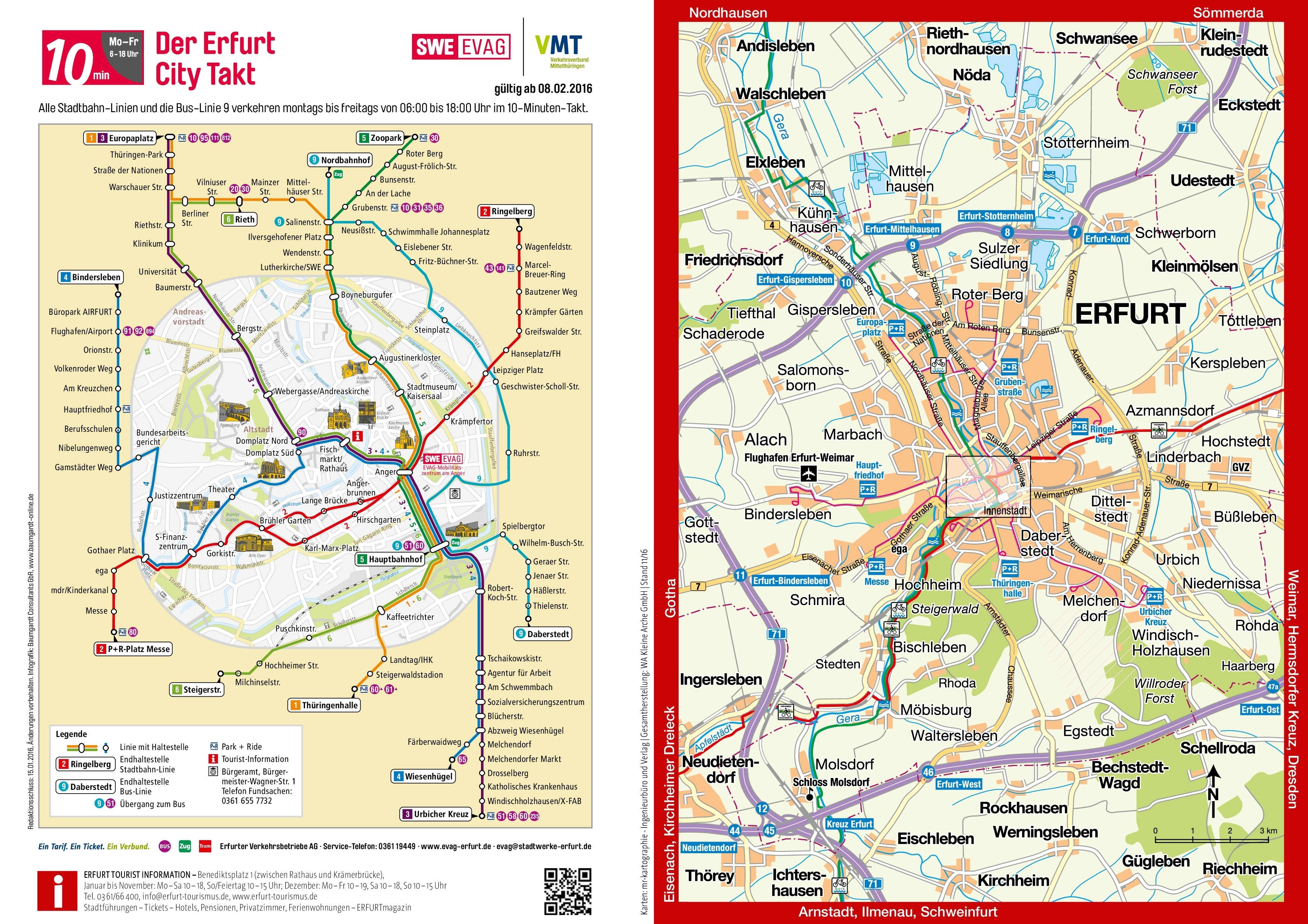 Map Of Erfurt - Location And Travel Information - Erfurt Tourismus for Erfurt Germany Map