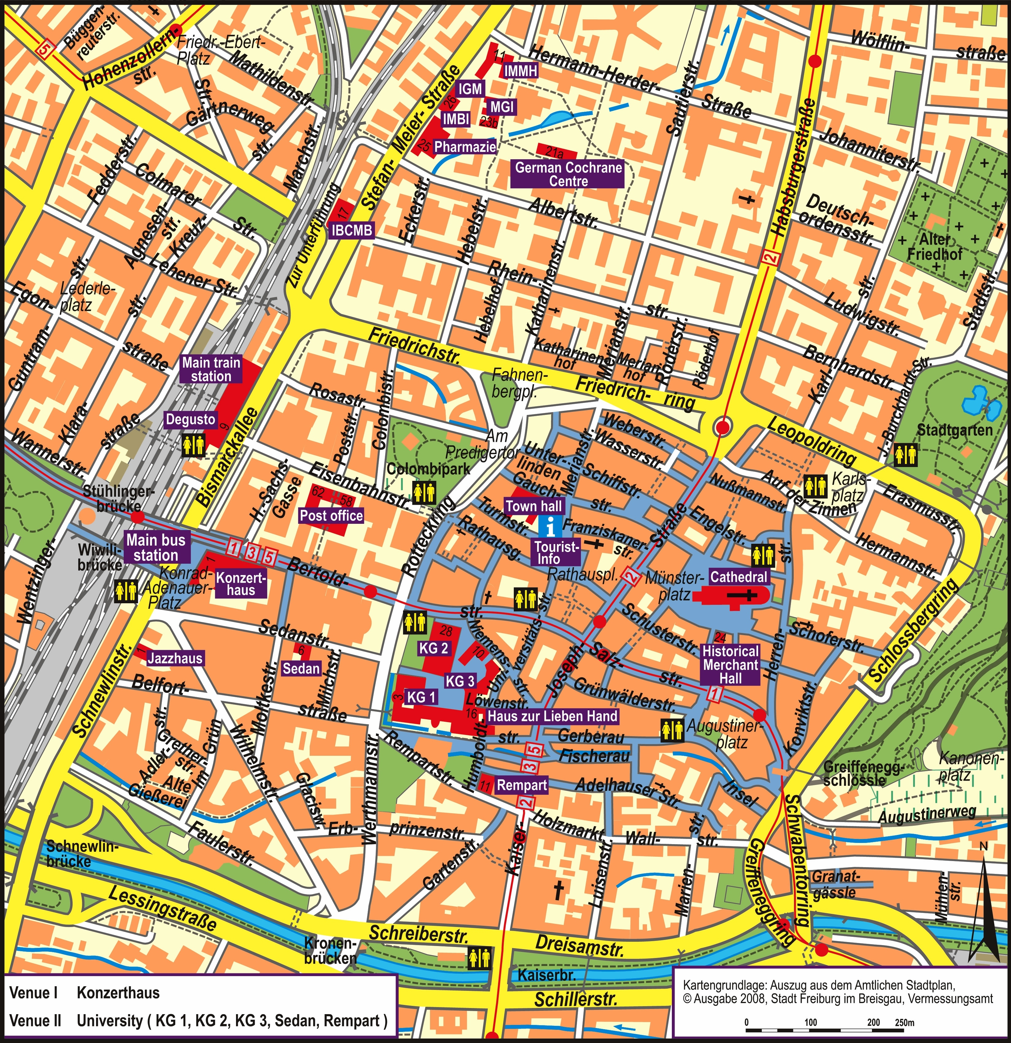 Map Of Freiburg Germany And Travel Information | Download Free Map throughout Freiburg Germany Map