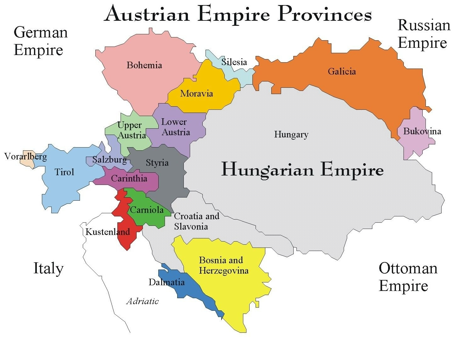 Map Of Germany Hungary And Austria   Download Them And Print intended for Map Of Germany Austria And Hungary