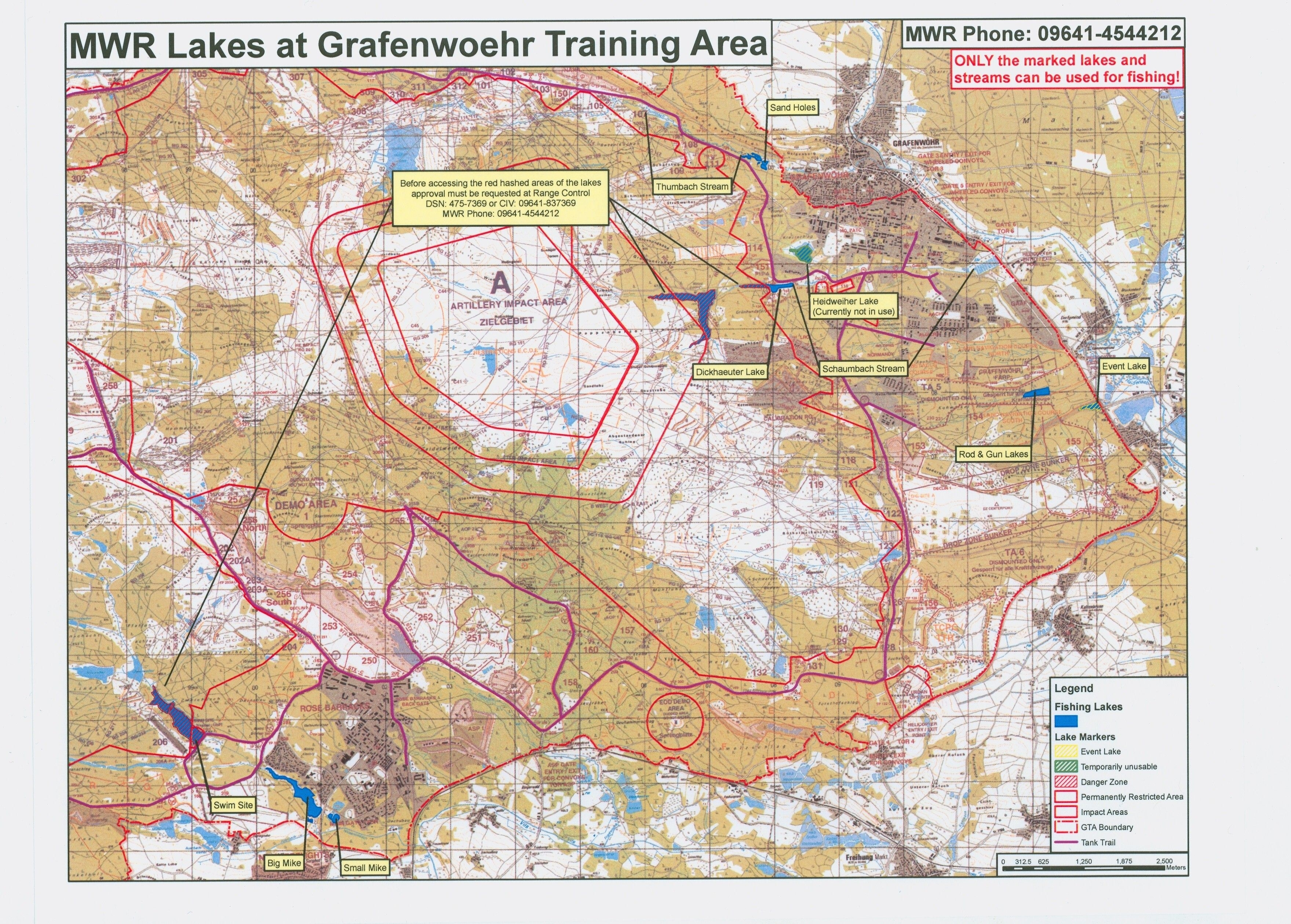 Map Of Grafenwoehr Training Center. | H Company , 2Nd Squadron 11Th pertaining to Grafenwoehr Germany Map