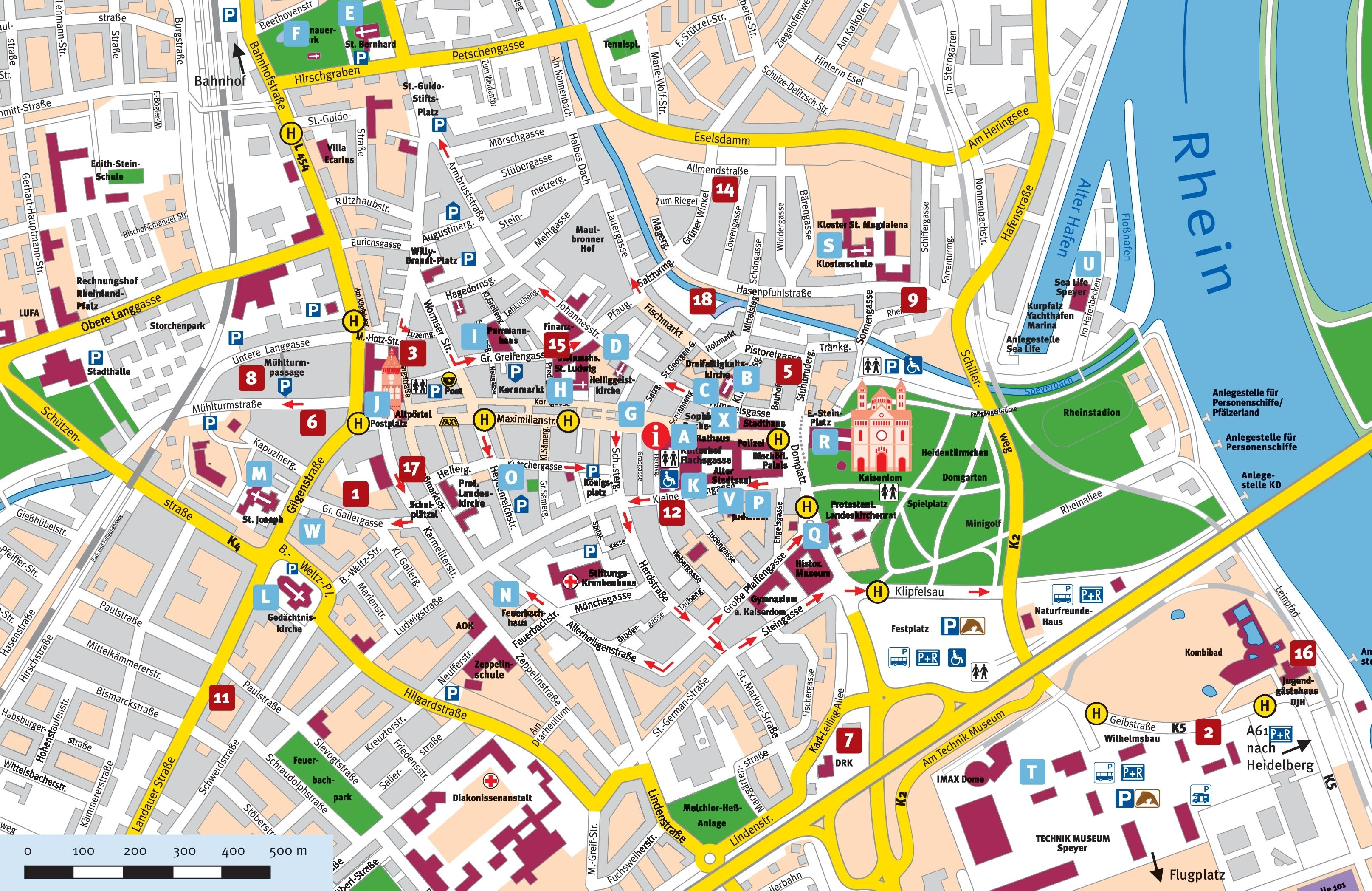 Map Of Munich And Travel Information   Download Free Map Of Munich intended for Munich Germany Map Attractions