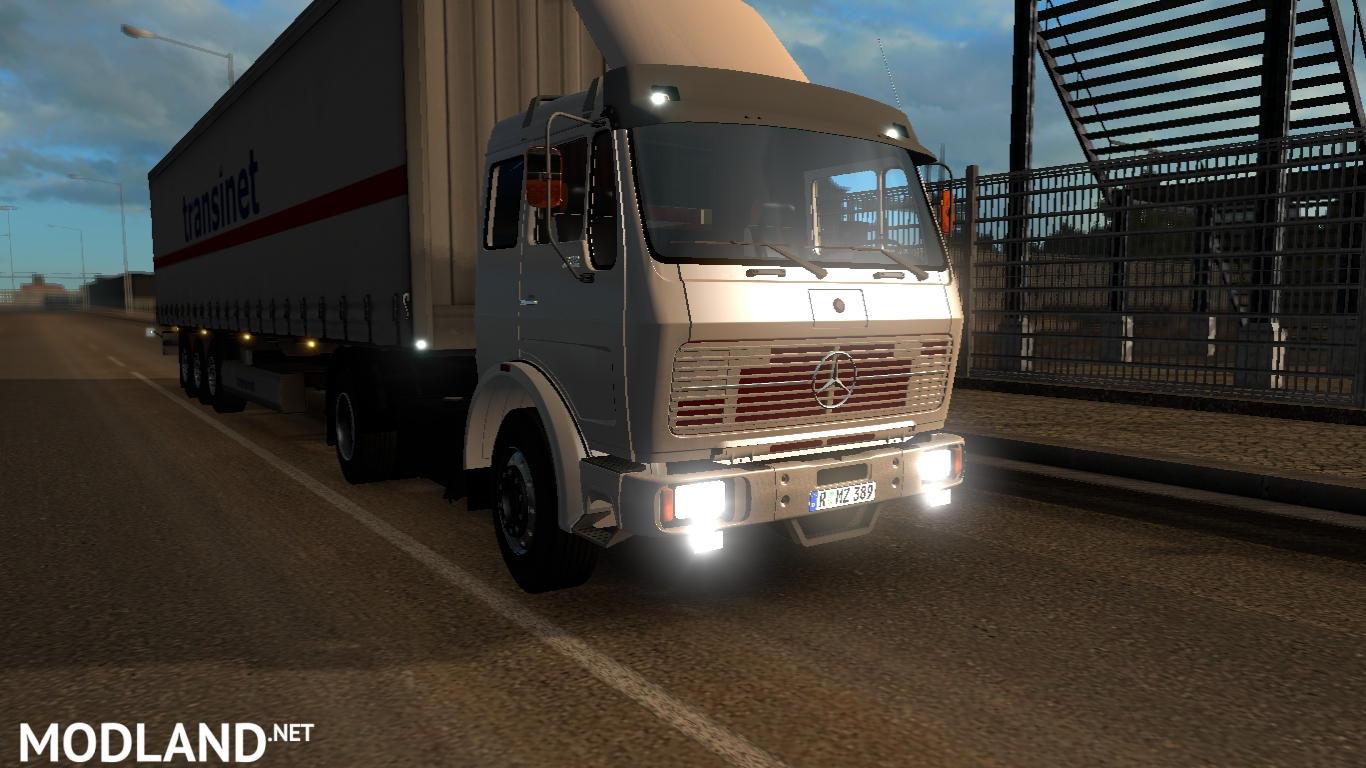 Mercedes 2521 Classical German Truck Mod For Ets 2 with German Truck Simulator Maps Download