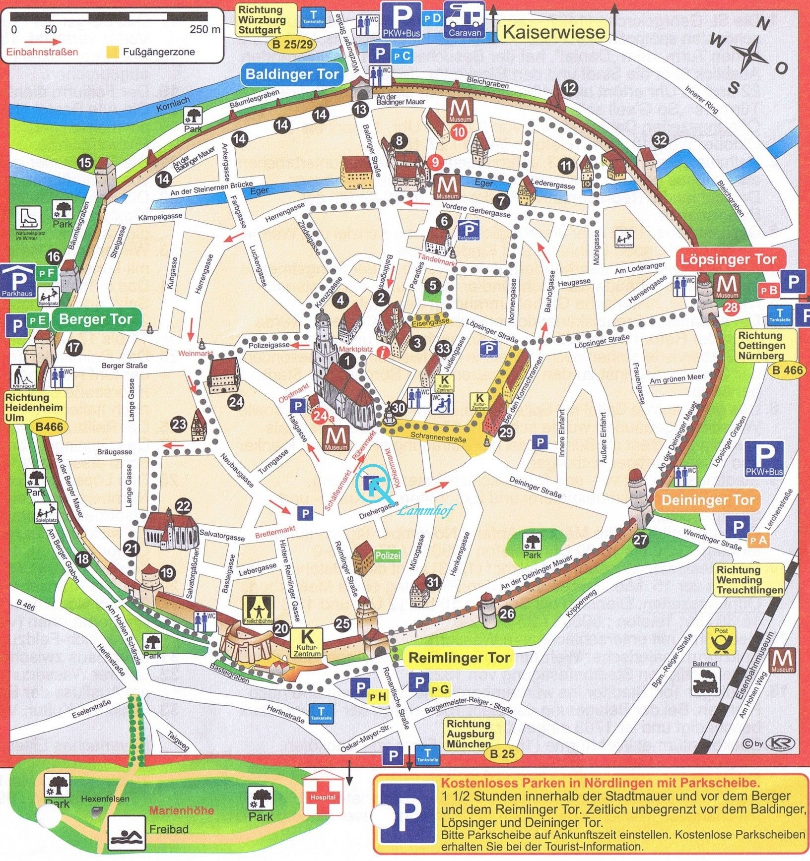 Munich Map   Euro Tour   Tourist Map, Road Trip Map, Romantic Road pertaining to Munich Germany Map Attractions