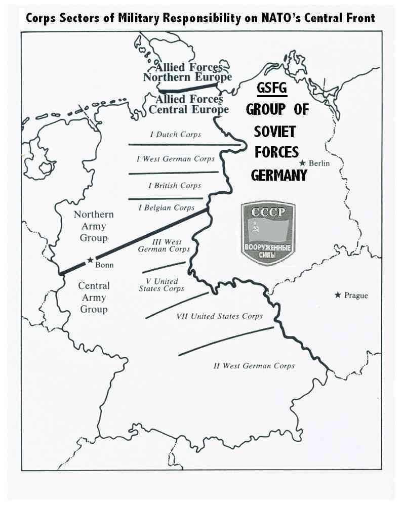 Nato Defense Zones Of West Germany | Fulda Gap | Historical Maps intended for West Germany World Map