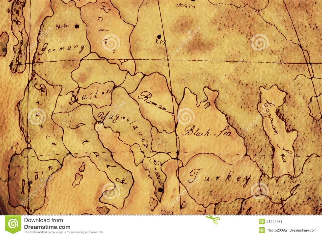 Old World Europe Map Background Stock Illustration - Illustration Of with regard to Old World Map Of Germany
