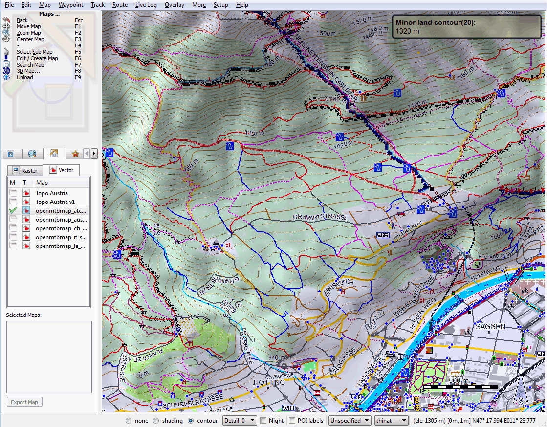 Openmtbmap - Mountainbike And Hiking Maps Based On Openstreetmap for Garmin Germany Map Download Free