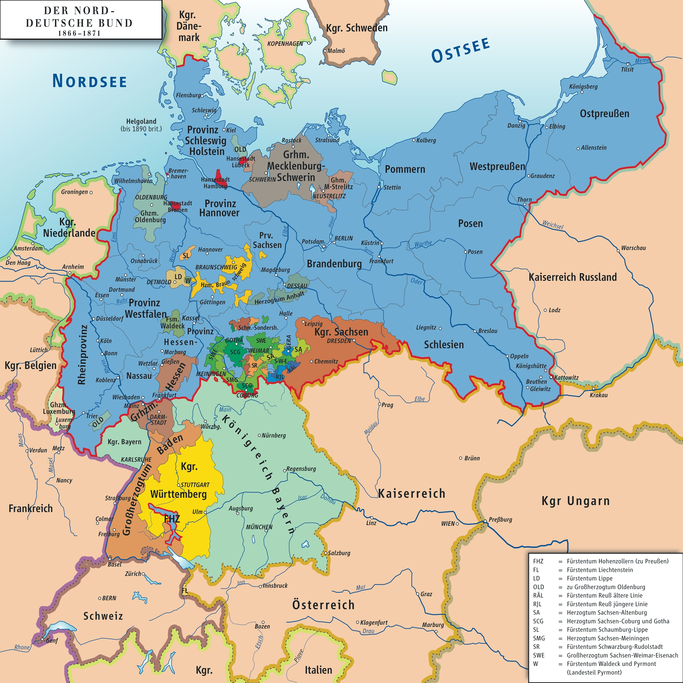 Outlines German Unification And Bismarks Envolvement. - Writework pertaining to Map Of Germany Before Unification