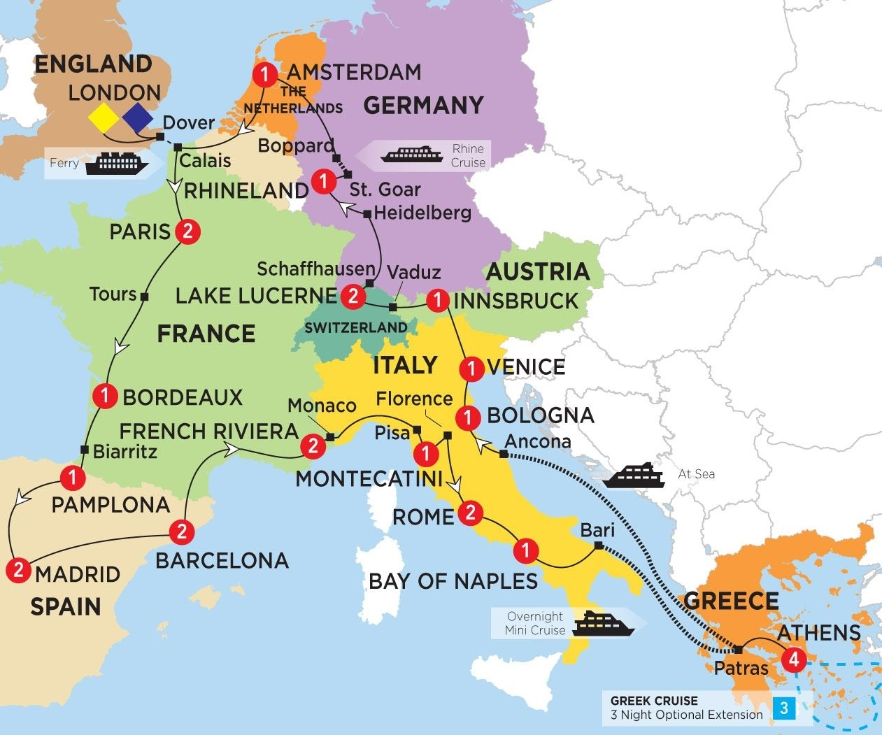Pingracelyn Goldensoph On Backpack Europe In 2019   Spain Travel within Map Of France Germany Switzerland Austria And Italy