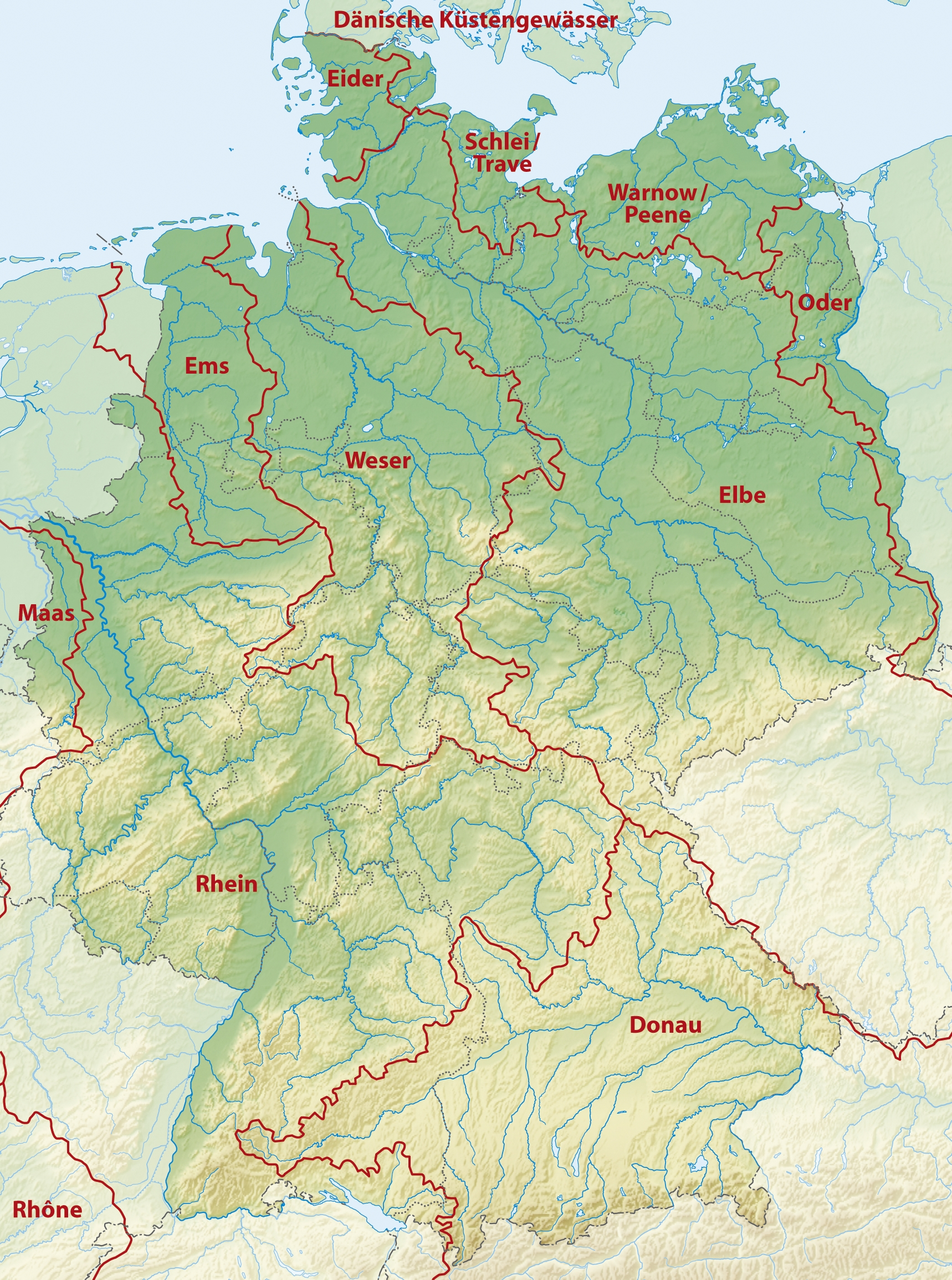 Pingregsz On Way Far Away And Long Ago Maps | Germany Travel regarding Germany Geography Map
