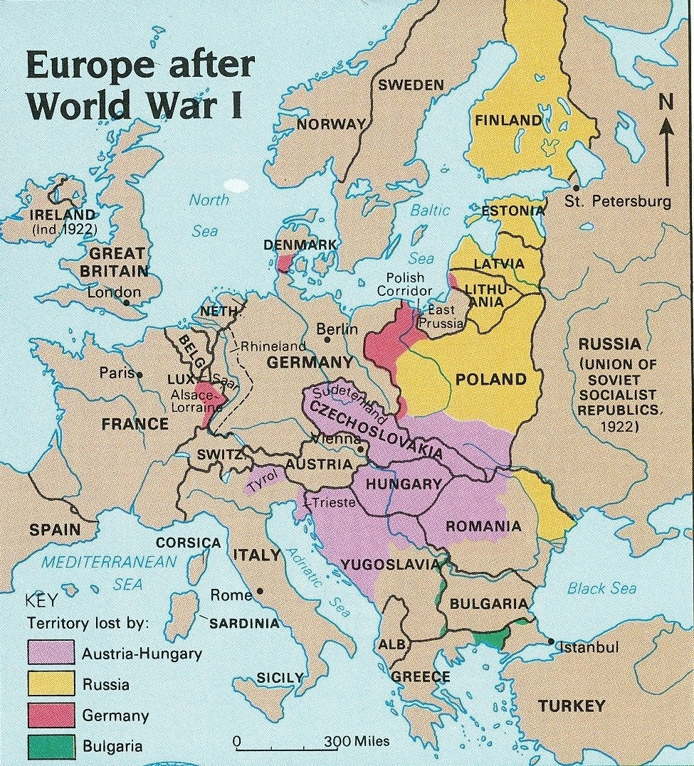 Pinpear On Josephine/samule Story And Timeg   World War One, Map regarding Germany Map Before Ww1 And After