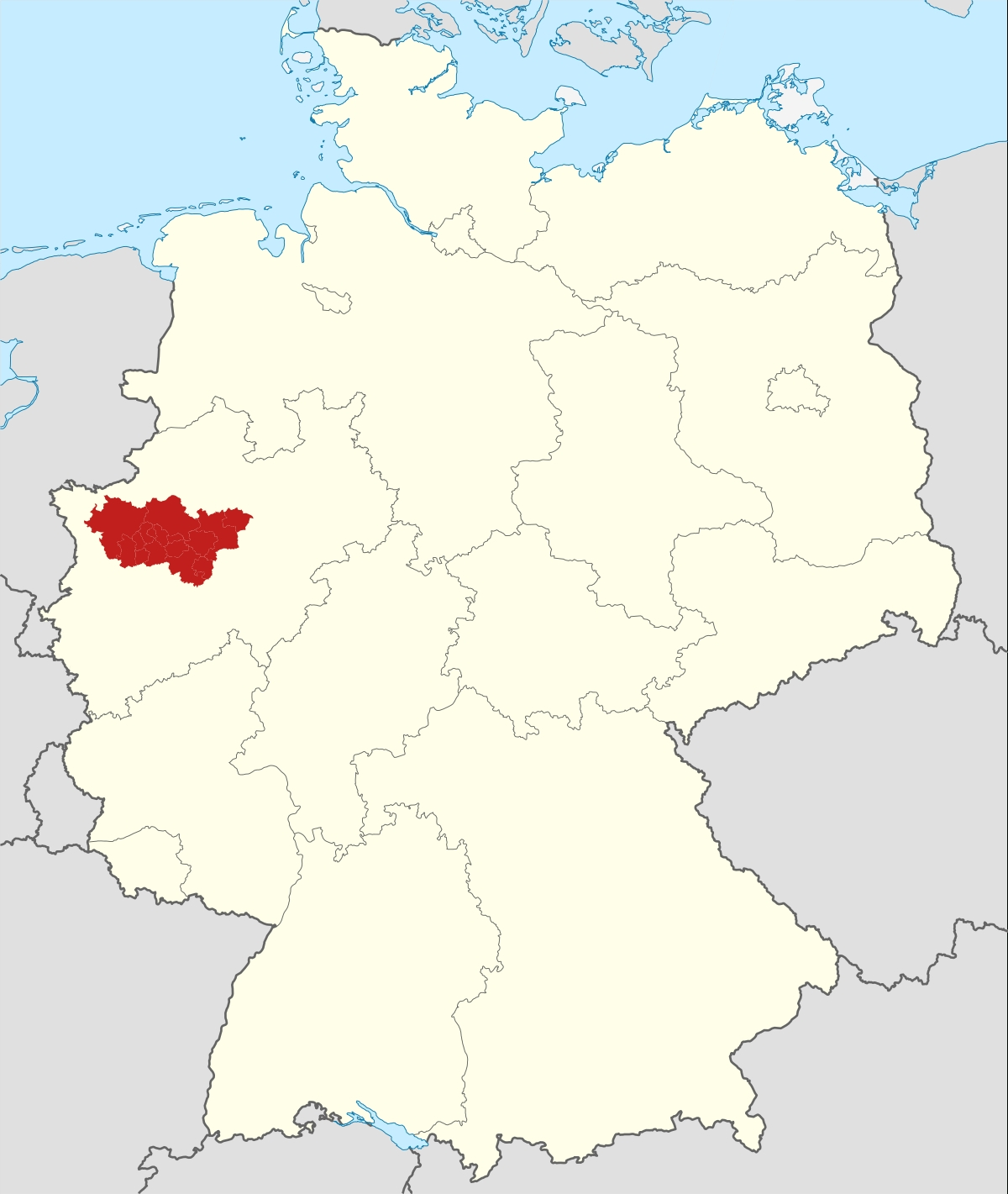 Ruhr - Wikipedia intended for Germany World Heritage Sites Map