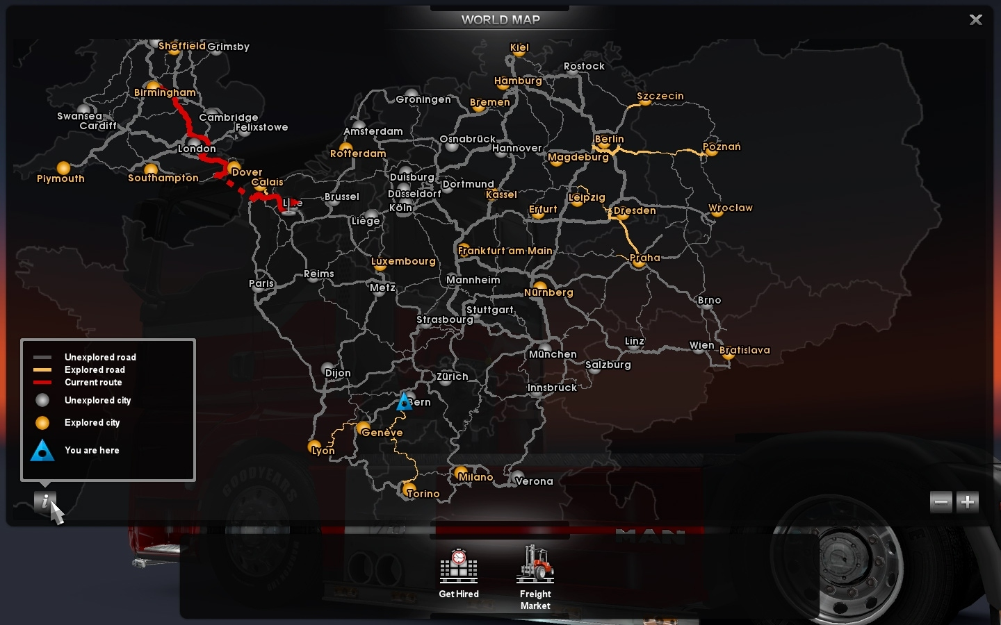 Scs Software's Blog: The Map Is Never Big Enough within German Truck Simulator Europe Map
