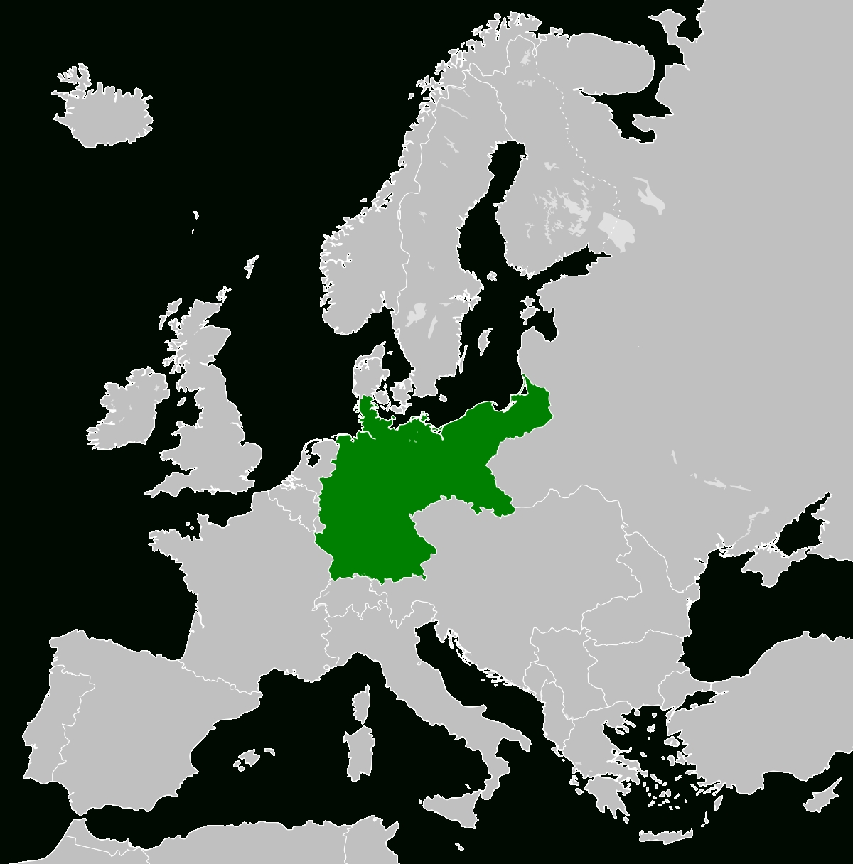 Territorial Evolution Of Germany - Wikipedia in West Germany World Map