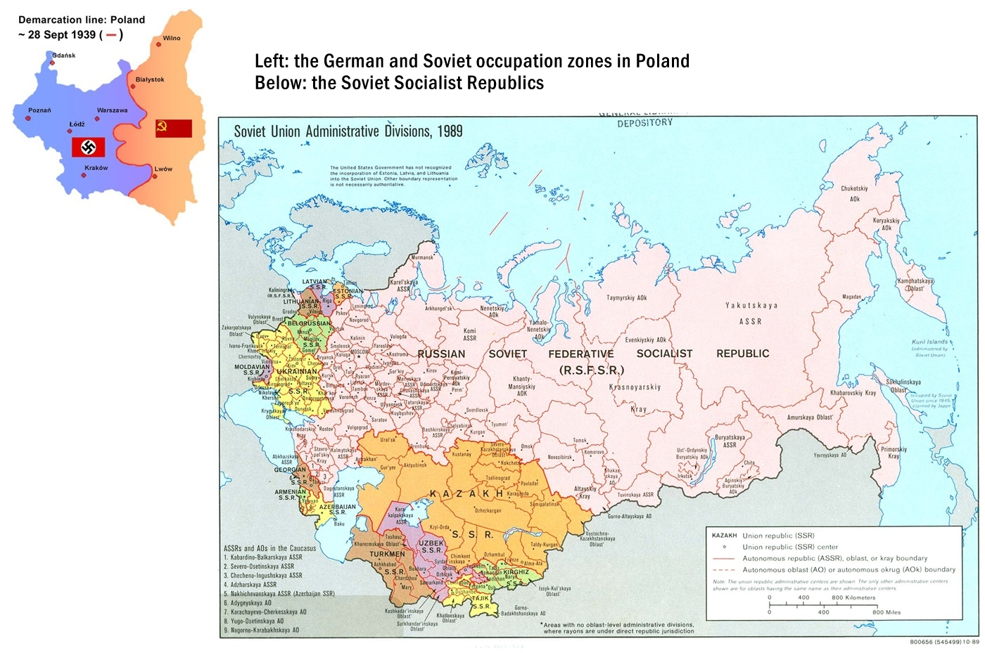 The End Of Wwii And The Division Of Europe | Ces At Unc regarding Germany Divided After Ww2 Map