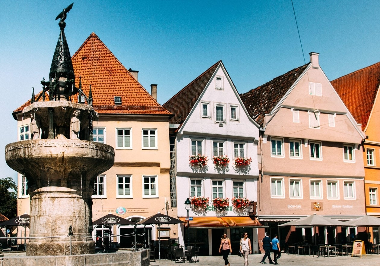 The Romantic Road Germany Travel Guide // Tips, Maps & Itinerary • for Romantic Road Germany Map