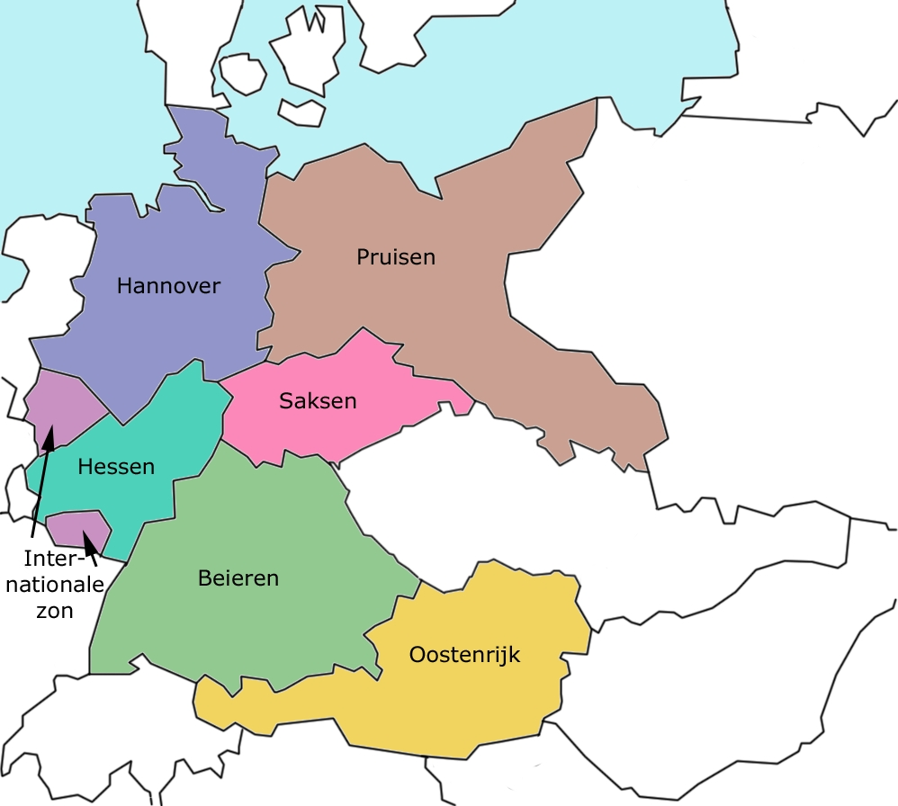The Roosevelt Plan For The Reorganization Of Germany After World War throughout Map Of Germany After World War 2