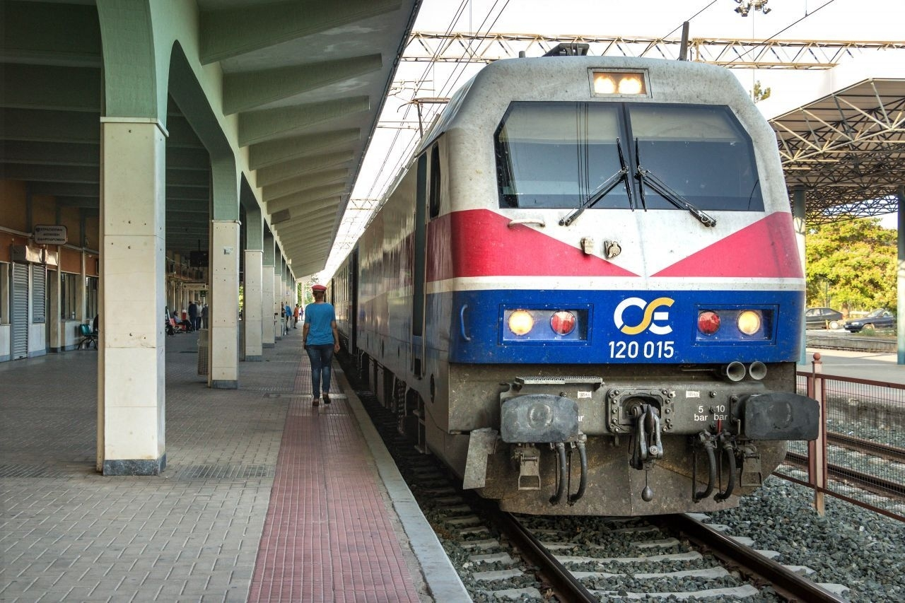 Trains In Greece: Rail Connection And Routes Map - Greeka with Greece To Germany Train Map