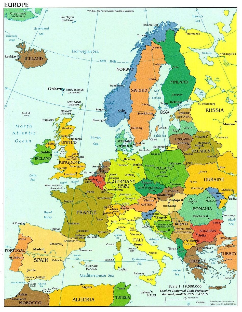 Travel To All Countries In Europe Been To: Sweden, Norway, Denmark with Map Of Germany Austria And Italy
