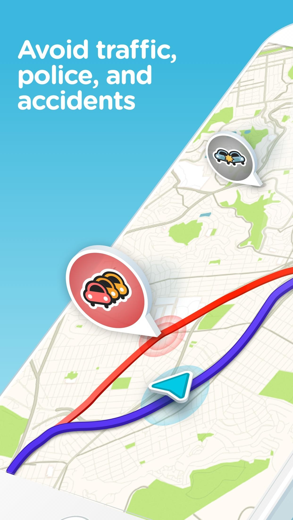 Waze For Android - Apk Download throughout Waze Germany Map Download