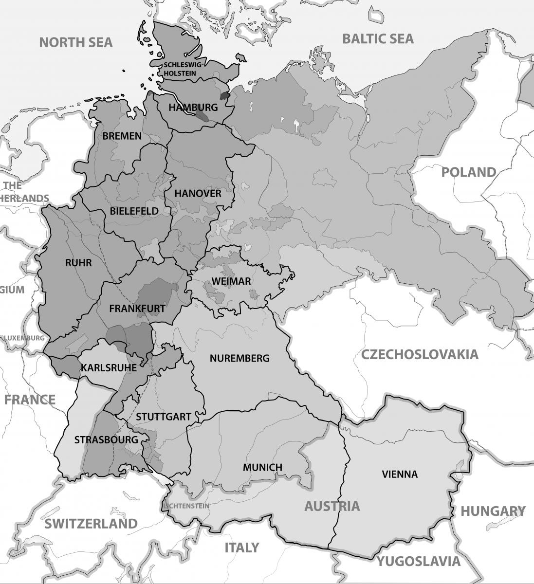 West German Mission | Religious Studies Center within Frankfurt Germany Mission Map