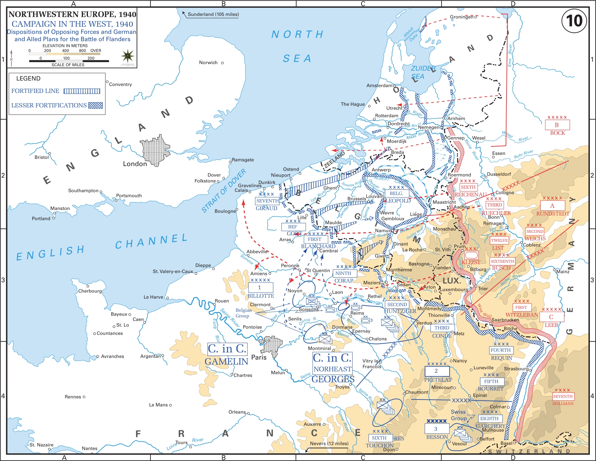 Western Front Maps Of World War Ii - Inflab - Medium pertaining to German Invasion Of Europe Map
