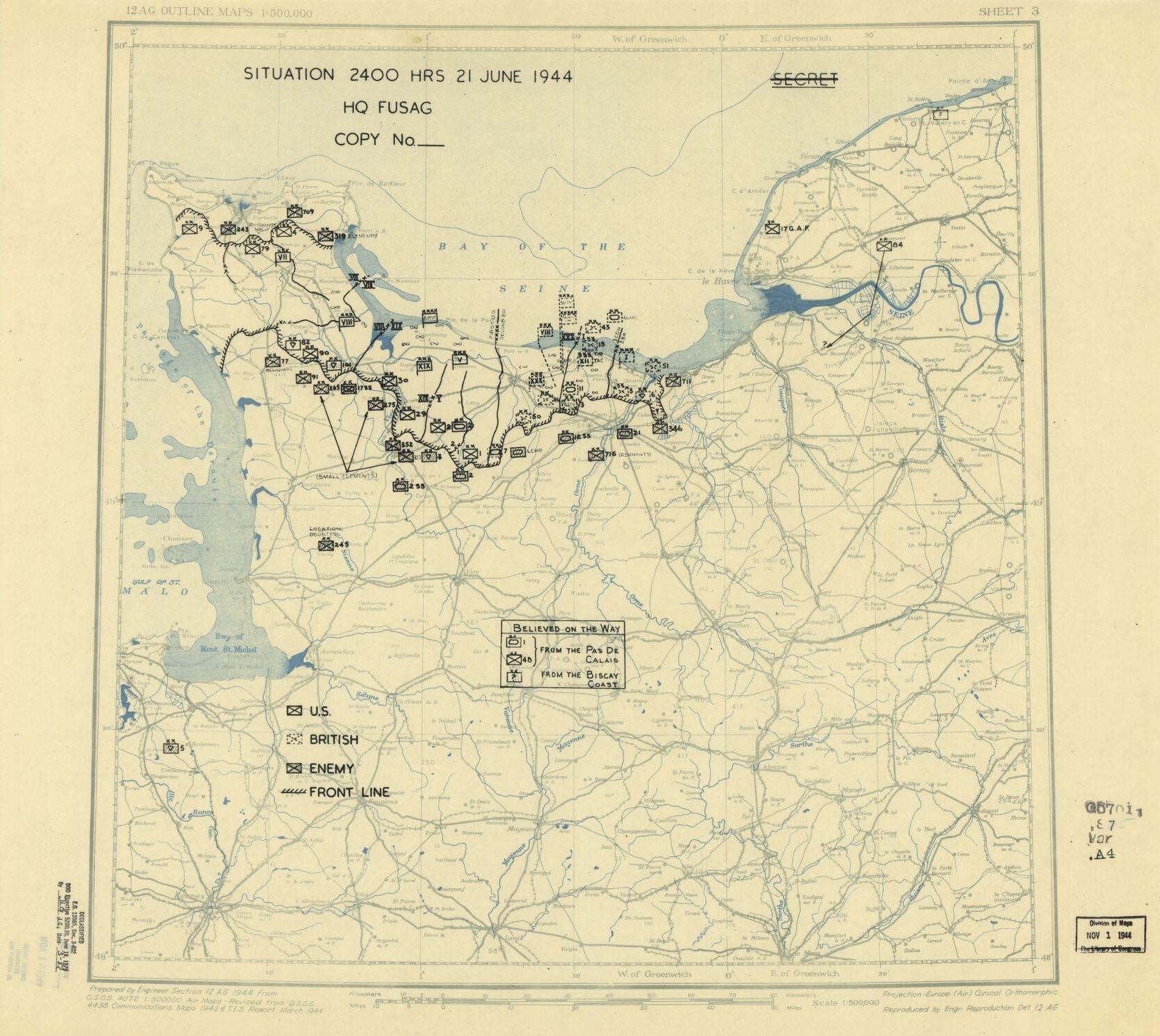 World War Ii Military Situation Maps, Available Online | Library Of with German Military Maps Ww2