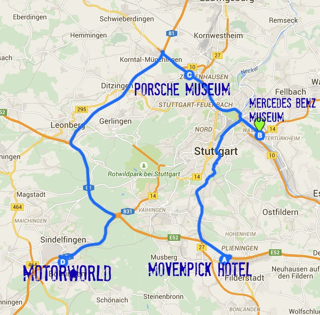 24 Hours In Str: Stuttgart Germany For Car Lovers - The pertaining to Stuttgart Germany On A Map