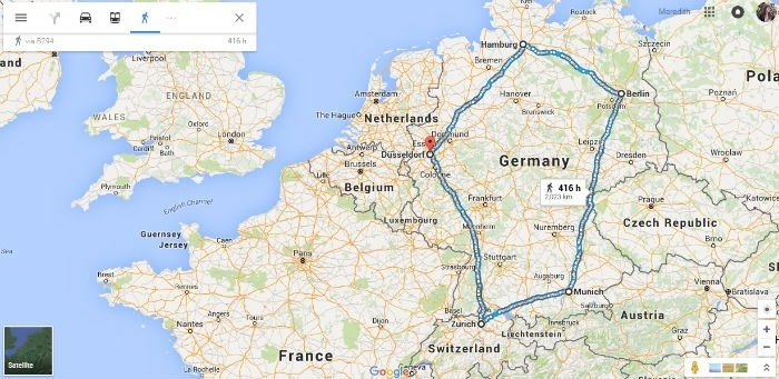 A Google Maps Perspective Of A Refugee'S Journey To Safety pertaining to Google Map Stuttgart Vaihingen