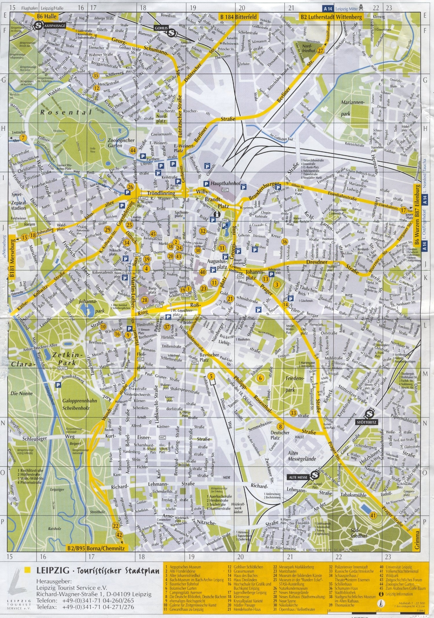 Guide To Bach Tour: Leipzig - Maps intended for Google Maps Traffic Stuttgart Germany
