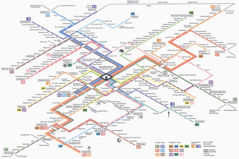 How To Design The Perfect Subway Map inside Subway Map Stuttgart Germany