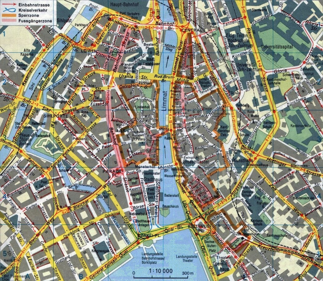 Large Detailed Metro Map Of Zurich City. Description From pertaining to Subway Map Stuttgart Germany