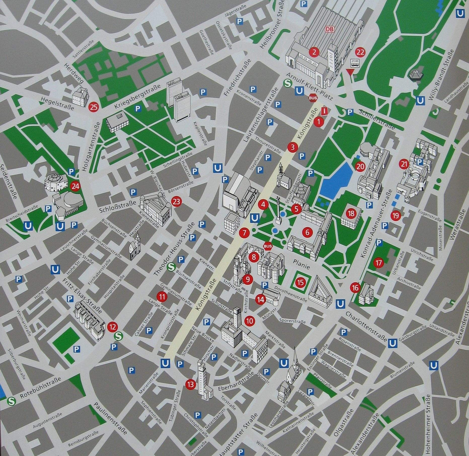 Large Stuttgart Maps For Free Download And Print   High intended for Weather Radar Map Stuttgart Germany