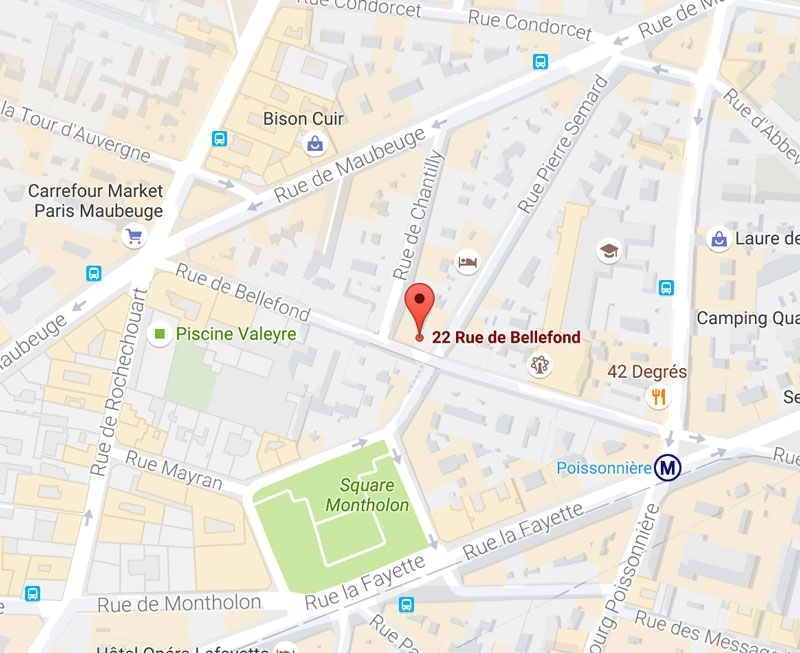Location Of The Hotel Helussi Paris *** - Official Site intended for Google Maps Hotels Stuttgart