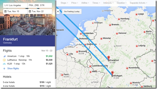 Skyteam Business Class $1,100 To $1,650 Round Trip Usa To throughout Google Maps Stuttgart Airport